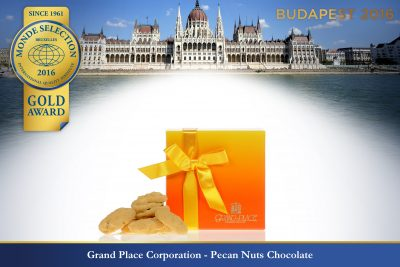 Grand Place Corporation - Pecan Nuts Chocolate